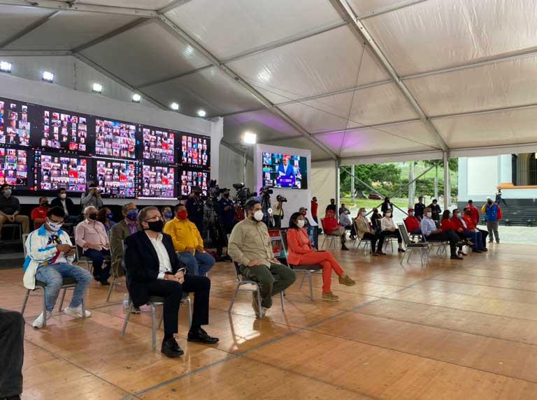 Instalan Comando de Campaña «Darío Vivas» con 554 candidatos