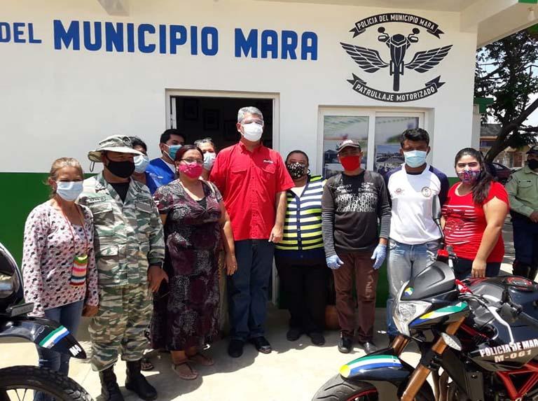 Activan primer comando de policía en Mara