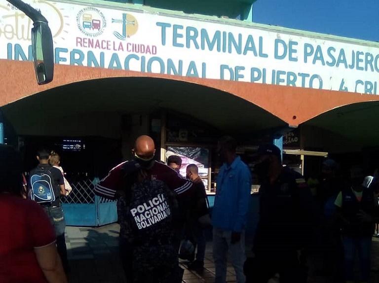 Más de 47 mil personas se movilizaron por el terminal de Puerto La Cruz