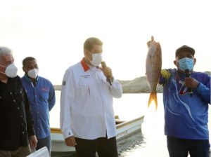 About 87 thousand tons of fish have been produced in the country