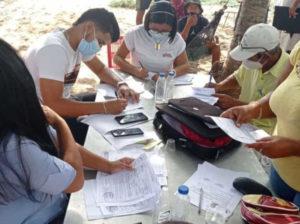They grant permits for artisanal fishing in Puerto La Cruz