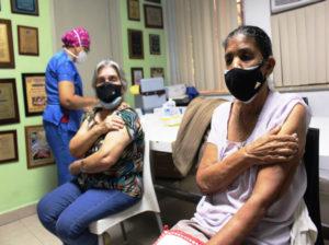 Jornada masiva de vacunación avanzó un 76,71% en Trujillo